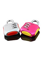 M520 Alloy Steel Password Padlock 3 Digit Password Fashion Multi - Color Password Padlock Luggage Password Lock