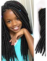 soft fauxlocs braid hair 14 18 inch goddness locs braiding hair kanekalon fauxlocs braided synthetic dread locs havana mambo faux locs 24roots/pack