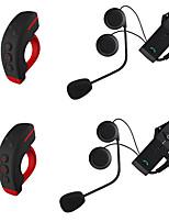Motocicleta V4.2 Auricular y Micrófono Bluetooth Pendiente de estilo colgante Mando a Distancia