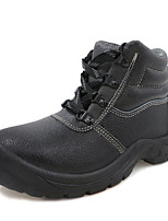 Для мужчин Ботинки Вулканизованная обувь Термопластик Осень Зима На низком каблуке Черный Менее 2,5 см