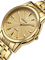 Top Brand Luxury Men's Stainless Steel Waterproof D Watch Men's Gold Quartz Watch Casual Men's Sports Watches WWOOR Men's Watch