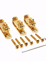 Gold Electric Guitar Bridge Part Fit For 34567 or 8 String Guitar