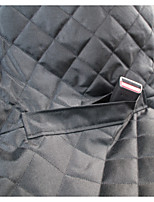 Dog Car Seat Cover Pet Baskets Black