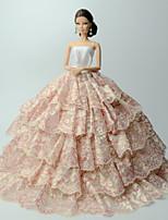 Vestidos Vestidos por Muñeca Barbie  Vestido por Chica de muñeca de juguete
