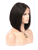 Body Wave Brazilian Human Hair Wigs Glueless Full Lace Wigs With Baby Hair Medium Brown Lace Cap