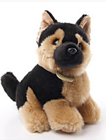 Stuffed Toys Dog Plush Fabric