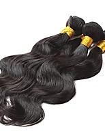 Tissages de cheveux humains Cheveux Brésiliens Ondulé 12 mois 3 tissages de cheveux kg Mèches Rapides