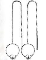 Mujer Pendientes colgantes Pendientes Set Geométrico Amistad Moda Joyería de Lujo Elegant Perla Artificial Legierung Forma Geométrica