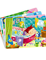 Jigsaw Puzzles Wooden Puzzles Building Blocks DIY Toys Cartoon Other