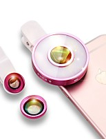 Lentilles de caméra téléscopique escase 0.45x grand angle 12x macro pour ipod iphone huawei xiaomi samsung