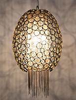 Contractado diseñador de comedor lámpara sala de estar atmósfera post-moderno arte pendiente creativa cadena borla lámparas de cobre y