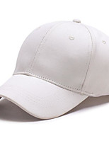 Women's Canvas Baseball Cap,Simple Solid All Seasons