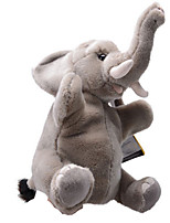 Stuffed Toys Dolls Finger Puppet Toys Elephant Animals Animals Simulation Teen Pieces