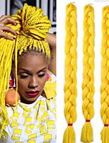 3pcs jumbo box braiding hair extensions 41inch synthetic crochet braids high temperature heat resistant fiber 165g/pc jumbo 3x braids hair in bulk