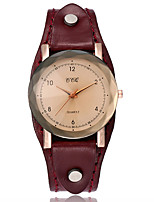 Жен. Модные часы Часы-браслет Уникальный творческий часы Повседневные часы Китайский Кварцевый Кожа ГруппаВинтаж Повседневная Элегантные