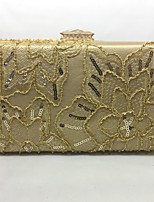 Women Bags All Seasons PU Evening Bag with for Event/Party Gold Black Silver