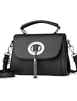 IMBETTUY Women's Fashion PU Leather Shoulder Messenger Crossbody Mini Bag/Handbag Tote