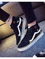 Women's Sneakers Comfort Spring Fall Canvas Casual Burgundy Navy Blue Black Flat