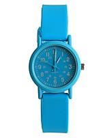 Жен. Модные часы Японский Кварцевый / силиконовый Группа Повседневная Синий