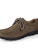 Для мужчин Туфли на шнуровке Формальная обувь Обувь для дайвинга Удобная обувь Осень Зима Натуральная кожа Нубук Наппа Leather Кожа Для