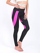 Mujer Sexy Adorable Tiro Medio Microelástico Chinos Pantalones de Deporte Pantalones,Delgado Un Color
