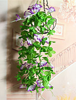 The Simulated Morning Glory Wall Hanging Cane Decoration Wall Hanging Flowers