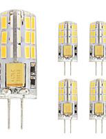 2W Двухштырьковые LED лампы T 48 SMD 4014 180 lm Тёплый белый Холодный белый V 5 шт. G4