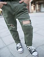 Pantaloni Da ragazzo Tinta unita Per tutte le stagioni