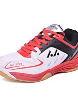Boys' Athletic Shoes Comfort Fall Winter Leatherette Running Shoes Athletic Casual Outdoor Split Joint Flat Heel Ruby Blue Blushing Pink