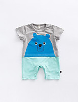 Baby Animal One-Pieces,Cotton Summer