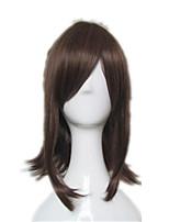 Pelucas de Cosplay Cosplay Okita Souji Animé Pelucas de Cosplay 45 CM Fibra resistente al calor Unisex
