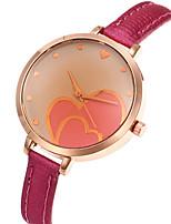 Жен. Модные часы Наручные часы Повседневные часы Кварцевый Кожа Группа С подвесками Cool Повседневная Люкс Элегантные часы Черный Белый