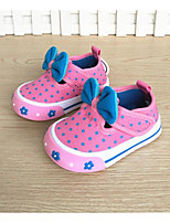 Girls' Flats Comfort First Walkers Spring Fall Fabric Casual Ruby Blue Flat