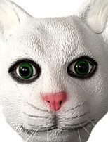 Маски на Хэллоуин Животная маска Кошка Тема ужаса Универсальные
