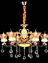 Pendant Light ,  Modern/Contemporary Traditional/Classic Zinc Alloy Feature for Crystal Mini Style MetalLiving Room Dining Room Study
