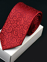 Men's Polyester Neck Tie,Office/Business Wedding Print