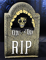 Halloween Supplies Bar Haunted House Horror Scene Layout Simulation Tombstone Three - Dimensional Bubble Sound Props
