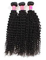 Tissages de cheveux humains Cheveux Brésiliens Frisés 3 Mois 3 tissages de cheveux kg Mèches Rapides