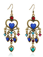Women's Earrings Set Basic Vintage Personalized Turquoise Alloy Jewelry For Gift Daily Evening Party Club Street