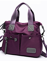 Women Bags All Seasons Nylon Tote with for Event/Party Casual Formal Office & Career Outdoor Blue Black Purple Fuchsia