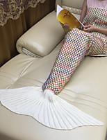 Tricotado Criativo Acrílico / Algodão cobertores