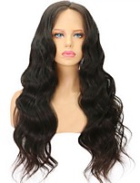 Unprocessed Peruvian Virgin Human Hair 13x6 Deep Parting Lace Front Wig Body Wave Front Lace Virgin Human Hair Wig