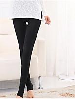 Mulheres Sólido Cor Única Legging