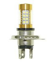Sencart 1pcs H4 PK22S Flashing Bulb Led Car Turn Signal Light Backup Light Bulb Lamps(White/Red/Blue/Warm White) (DC/AC9-32V)