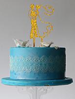 Украшения для торта Классическая пара Свадьба Для вечеринок Пластмассовая сумка