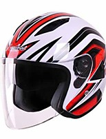 Andes HELMET A-6 Motorcycle Helmet Electric Car Helmet Men Ladies Motorcycle Helmet Summer Half Helmet Double Lens Sunscreen