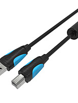 USB 2.0 Câble, USB 2.0 to USB Type B Câble Male - Male 1.0m (3ft)