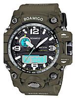 Муж. Детские Спортивные часы Модные часы Наручные часы Повседневные часы Китайский КварцевыйLED Календарь Защита от влаги Светящийся