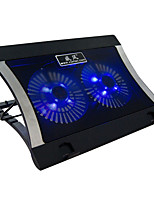 XLW-016 Laptop Cooling Pad 2 Fan With Dual USB Interface 15.6-Inch Notebook Radiator