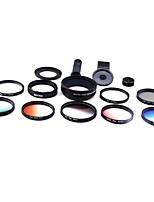 Lentilles de caméra xihama pour smartphone 0.45x grand angle 12.5x macro lentille de poisson cpl pour ipad iphone huawei xiaomi samsung